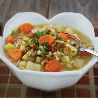 Root Vegetable and Barley Soup