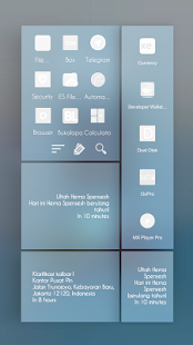 Blueshade Theme Total Launcher- screenshot thumbnail