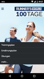 RW Abnehmen durch Laufen Fitness app screenshot for Android