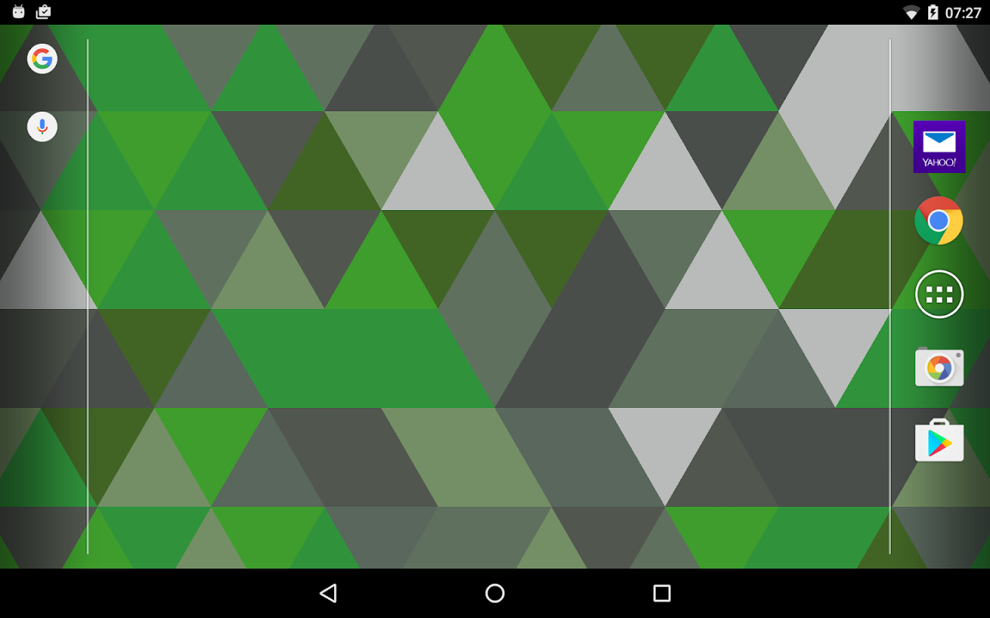 Triangles Live Wallpaper Screenshot 11