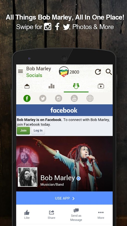 Bob Marley Official Music Screenshot 2