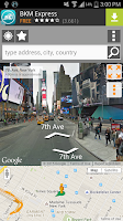 Screenshot of Street Panorama View