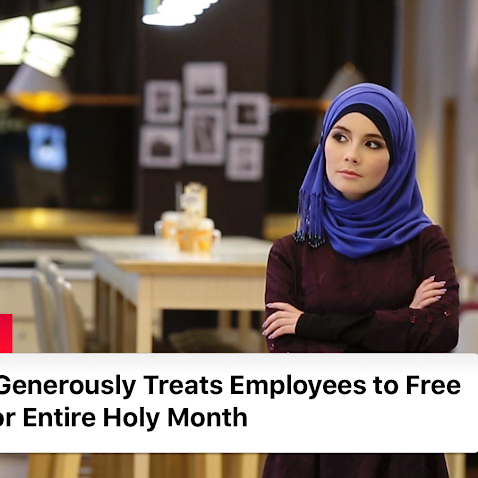 Company Generously Treats Employees to Free Lunches for Entire Holy Month