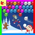 Christmas games Bubble Shooter Icon