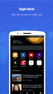Minifier Browser - fast, small, weather & news APK for Bluestacks