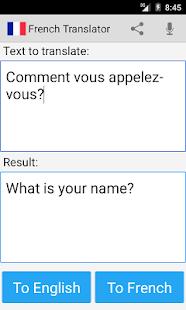 App French English Translator apk for kindle fire
