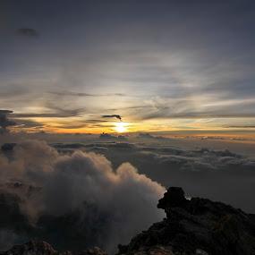 Kerinci peaks by Syahbuddin Nurdiyana - Landscapes Sunsets & Sunrises