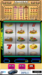 Snacks Slot Machine - screenshot