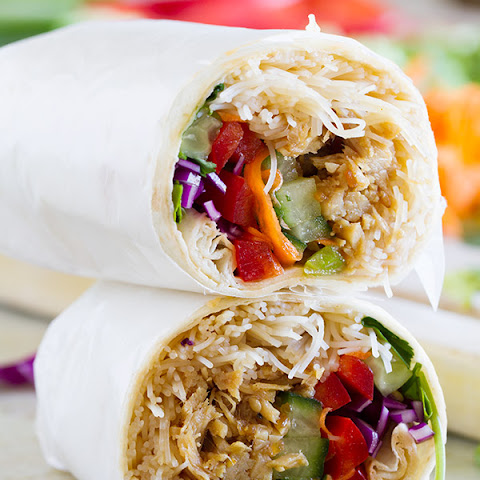 Easy Chicken Teriyaki Wraps