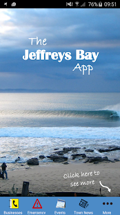 Jeffreys Bay Mobile App - screenshot