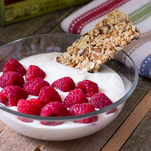 Fruit & Yogurt Bowl with Granola Bar Dipper