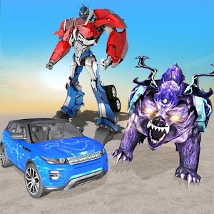 Grand Robot Car Transformation Wild Bear For PC