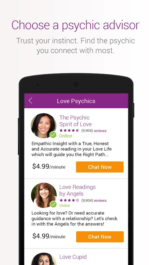 Kasamba Psychic Readings Chat Screenshot 2