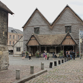 St Catherine's Church, Honfleur, France by Carol Lauderdale - Buildings & Architecture Places of Worship ( timber built, 15th century, church, honfleur, france, vaulted )