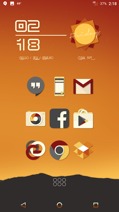 Saturate - Free Icon Pack Screenshot 1
