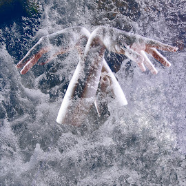 You never know what is hidden in the ocean... by Annika Torstensson - Digital Art People ( water, aminaphoto, hands, digital art, annika torstensson, andrea palmqvist gillman )