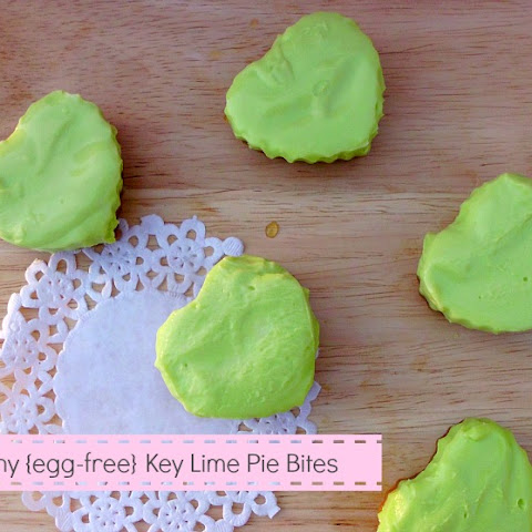 Skinny Egg-Free Key Lime Pie Bites