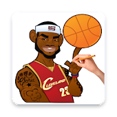 Download Full How To Draw Basketball Stars 1.0 APK