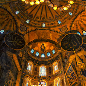 Mihrab @ Hagia Sophia by Sefanya Dirgagunarsa - Buildings & Architecture Public & Historical (  )