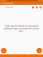 Screenshot of Swami Vivekananda Quotes