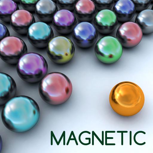 Magnetic balls bubble shoot (game)