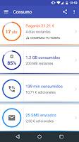Screenshot of dcide: compara tu tarifa móvil