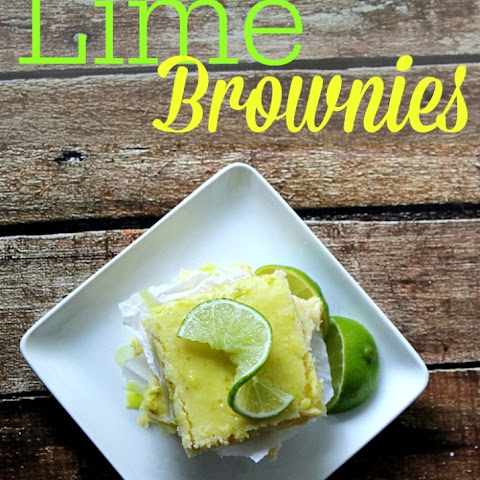 Lime Brownies