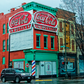 richmond virginia by Lennie Locken - City,  Street & Park  Street Scenes