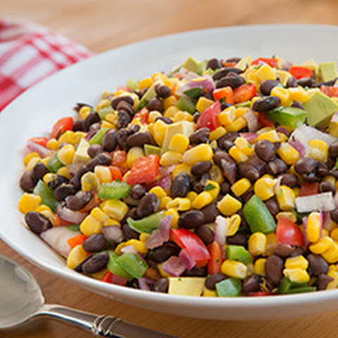 Buttery Summer Corn & Bean Salad