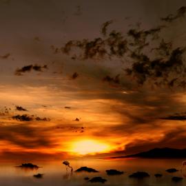 Sol del Loa by Alberto Nadgar R. - Digital Art Places ( arte digital, anadgar )