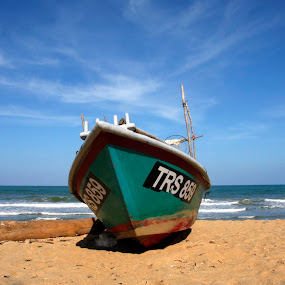 Boat by Azmil Omar - Transportation Boats
