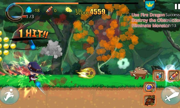 Brave Warrior Fight apk screenshot