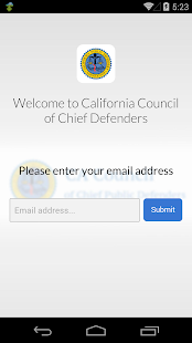 CA Council of Chief Defenders - screenshot