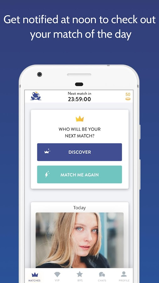 Once - the Slow Dating App Screenshot 1