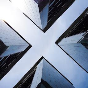 The Big X by Jonny Lim - Buildings & Architecture Office Buildings & Hotels ( buildings )