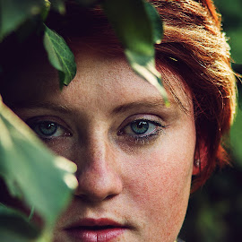 MOrgan by Phillip Prinsloo - People Portraits of Women ( natural light, nature, woman, natural, portrait, eyes )