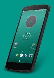 Nuclear Teal CM13 Theme- screenshot thumbnail