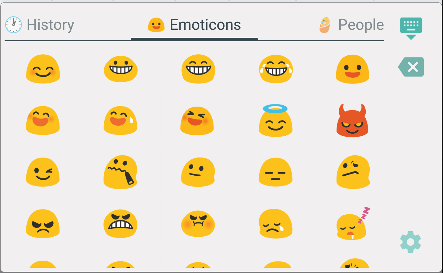 TruKey Emoji + Prediction Full Screenshot 5