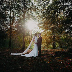 Autumn sun always brings out the colour :) by Kaspars Sarovarcenko - Wedding Bride & Groom ( wedding photographer limerick )