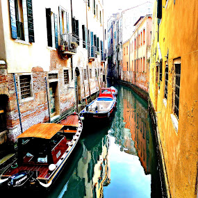 Colorful Venice by Pieter Arnolli - City,  Street & Park  Historic Districts ( europe, venice, travel, italy, canal )
