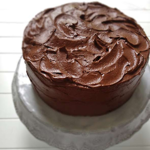Spiced Whole Grain Chocolate Cake With Salted Chocolate Frosting ...