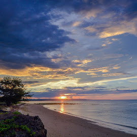 East Indonesian Beach by Rifalfi Hamdi - Landscapes Beaches ( indonesian, waterscape, beach, landscape, nightscape, sands, beaches, new, daytime, travelling, night photography, sunset, sunsets, landscape photography, sun light, travelure, landscapes, travel photography, daylight, travel locations )