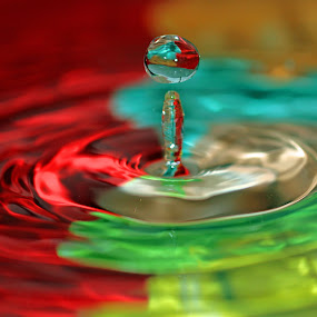 by Praveen Chand - Abstract Water Drops & Splashes