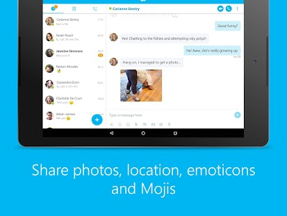 Free Skype - free IM & video calls APK for Windows 8