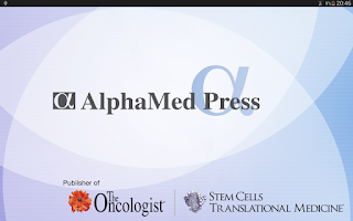 Screenshot of AlphaMed Press Journals
