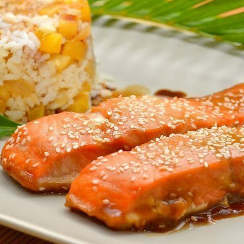 Salmon With Honey And Cinnamon