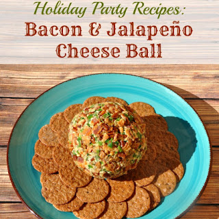 Spicy Bacon & Jalapeno Cheese Ball