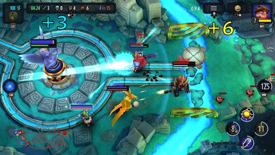 Game Heroes of SoulCraft - MOBA apk for kindle fire