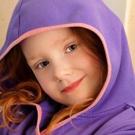 My Hoodie Hood Hood by Cheryl Korotky - Babies & Children Child Portraits