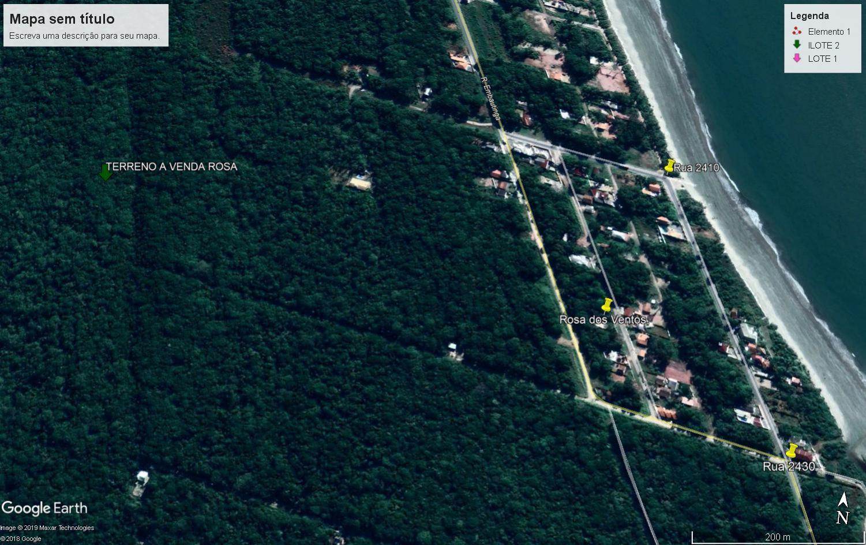 Terreno à venda, 375 m² por R$ 20.000 - Rosa dos Ventos - Itapoá/SC